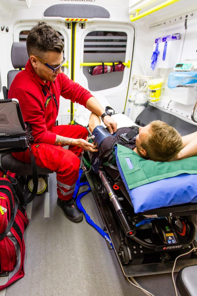 Ambulanssissa